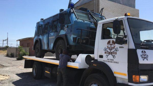 truck transport for film