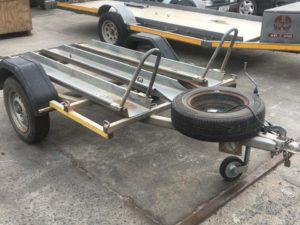 motorbike trailer rental