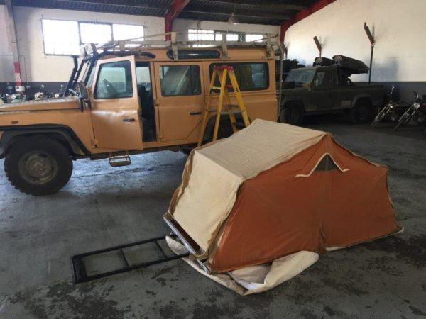 Land Rover rental for film