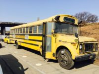 old bus rental for movie