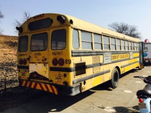 District Shool Bus Rental for film
