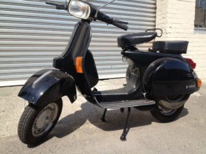 vespa rent for film production