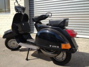 vespa rental for movie