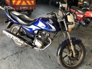 Honda e-storm SDH125-46A Blue, 2015