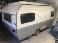 old caravan to rent for film