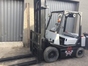 forklift rental for film
