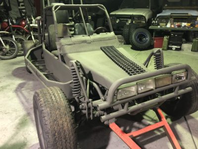 custom built action vehicle