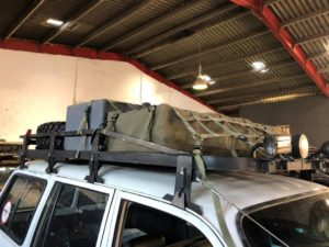 roof rack to hire for film set