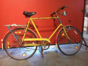 vintage bicycle rental for film